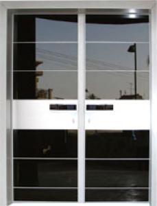 תצוגת דלתות כניסה - דוגמא