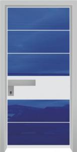 דלת מדגם יהלום 1052