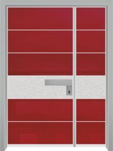 דלת מדגם יהלום 1051
