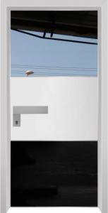 דלת מדגם הייטק יהלום 1099