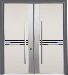 דלת מדגם הייטק יהלום 1095