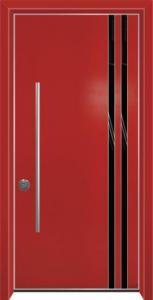 דלת מדגם הייטק יהלום 1092
