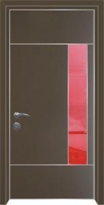 דלת מדגם הייטק יהלום 1091