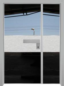 דלת מדגם הייטק יהלום 1090