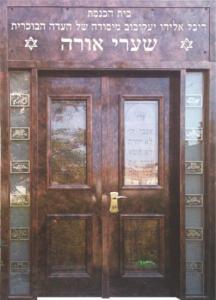 דלת מדגם בית כנסת 1