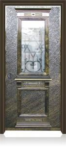 דלת מדגם בית כנסת ביזנטי